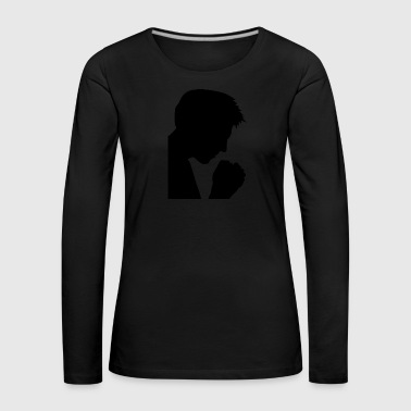 prayer - Women's Premium Longsleeve Shirt