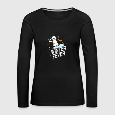 Winter Fever - Frauen Premium Langarmshirt