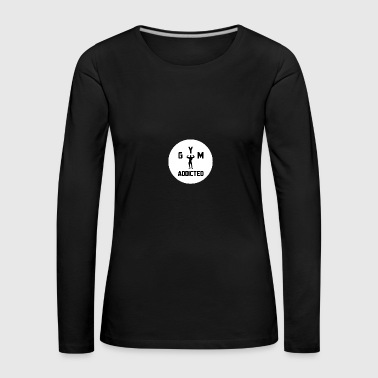 Bodybuilder circle - Women's Premium Longsleeve Shirt