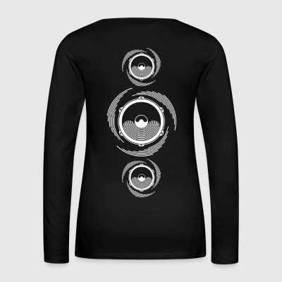 Spiral Sound Bass Speaker - Women's Premium Longsleeve Shirt