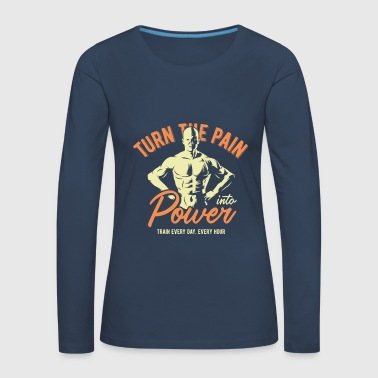 Power POWER - Women's Premium Longsleeve Shirt