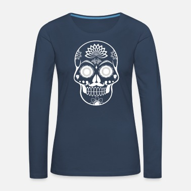 Mexico Day Of The Dead Day dead muertos mexico tradition death gift - Women's Premium Longsleeve Shirt