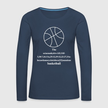 Basket-ball - basket-ball - T-shirt manches longues Premium Femme