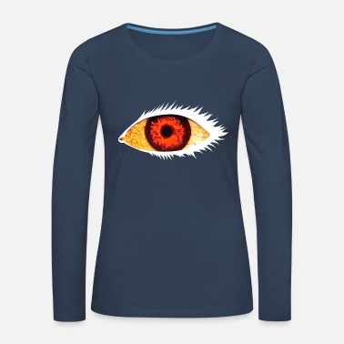 Undead Eye white - Women's Premium Longsleeve Shirt
