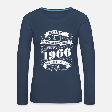 1966 December 1966 The birth of an icon - Women's Premium Longsleeve Shirt