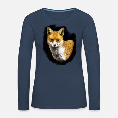 A Fox - Women's Premium Longsleeve Shirt