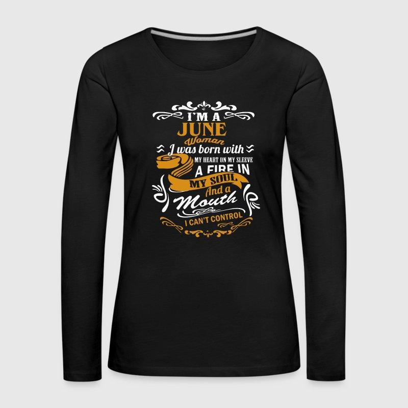 b64a36e091d I m an June Woman shirt by Chickendt132