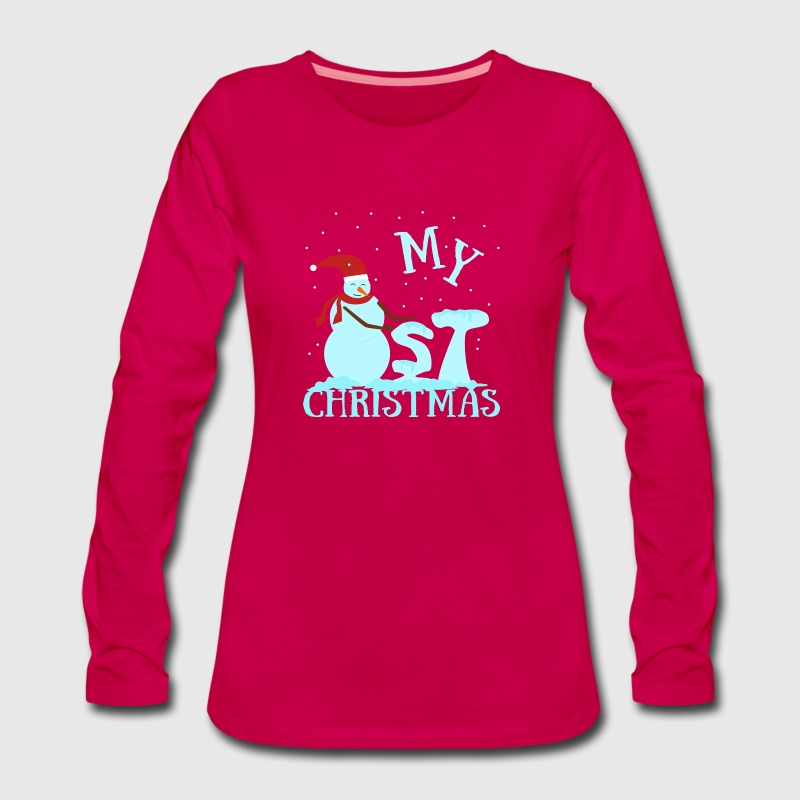 Baby Kind erstes Weihnachtsgeschenk Schneemann von Rumborak ...