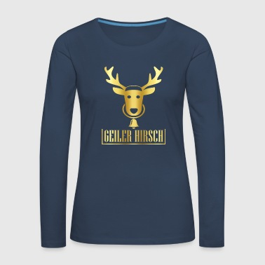 Stag Horny stag Horny stag - Women's Premium Longsleeve Shirt