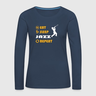 Soul Jazz - gift for men and women - Frauen Premium Langarmshirt