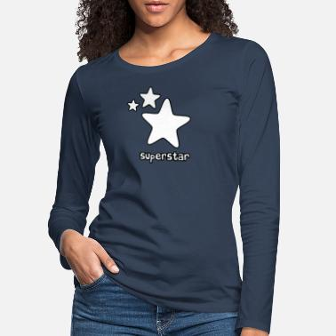 Superstar Superstar - Frauen Premium Langarmshirt