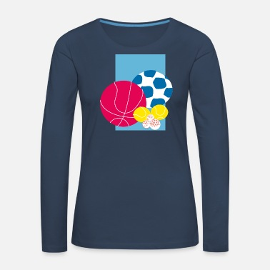 Ball Sport Sports balls - Women's Premium Longsleeve Shirt