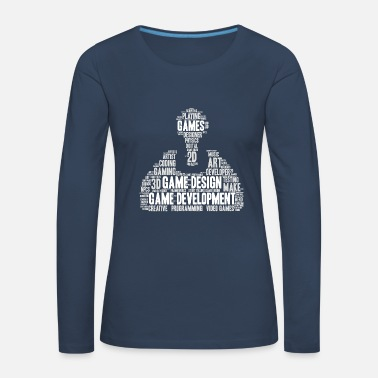 Script Game Developer Game Developer Games Designer - Women's Premium Longsleeve Shirt