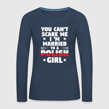 Polish wife - Women's Premium Longsleeve Shirt