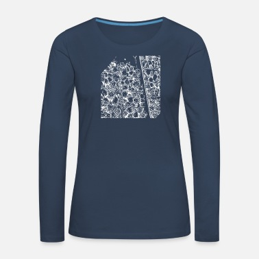 Drawing drawing - Women's Premium Longsleeve Shirt