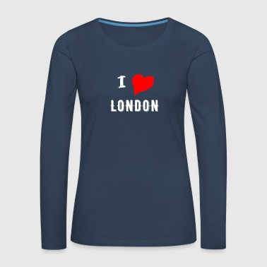 I Love London - Women's Premium Longsleeve Shirt