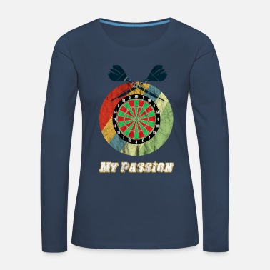 Darts Dart My Passion - Women's Premium Longsleeve Shirt