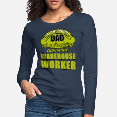 Mode WAREHOUSE WORKER DAD - Frauen Premium Langarmshirt