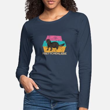 Animal Collection Ferrets LOVE - Women's Premium Longsleeve Shirt