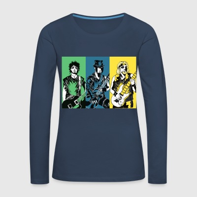Punk Rock Metal - Women's Premium Longsleeve Shirt