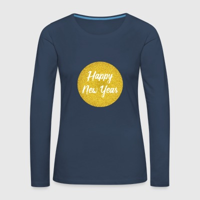 Happy New Year Silvester Design - Frauen Premium Langarmshirt