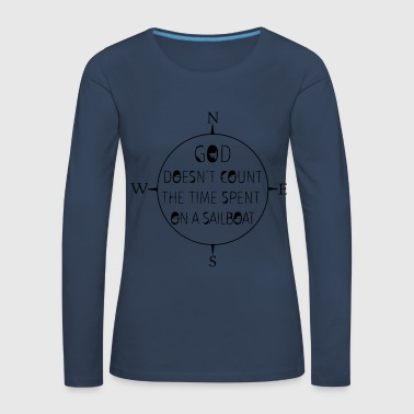 Sailors live longer - Women's Premium Longsleeve Shirt