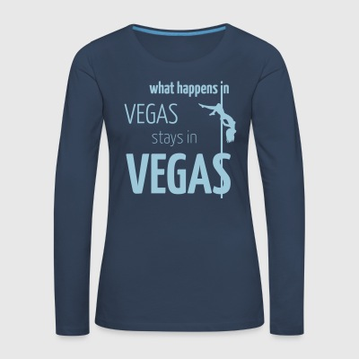 what happens in vegas ... - Women's Premium Longsleeve Shirt