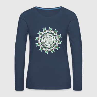 FLY CIRCLE - Women's Premium Longsleeve Shirt