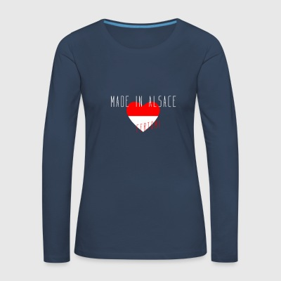 Made in Alsace - T-shirt manches longues Premium Femme
