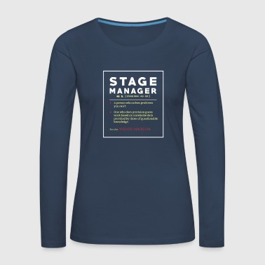Stage Manager Tee Shirt Poison - Women's Premium Longsleeve Shirt