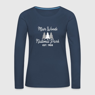 Muir Woods Nationalpark Kalifornien Redwood Forest - Frauen Premium Langarmshirt