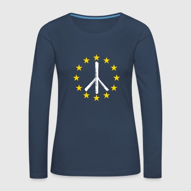 European Peace - Women's Premium Longsleeve Shirt