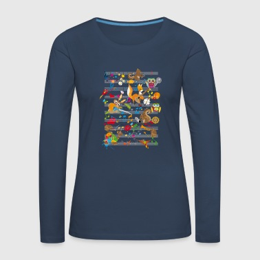 Concert of Animals - Women's Premium Longsleeve Shirt