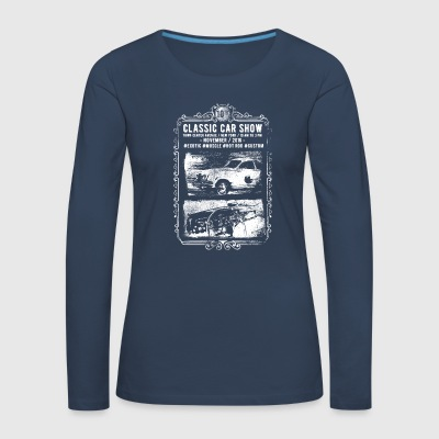 Classic Car Show: classic cars in action! - Women's Premium Longsleeve Shirt