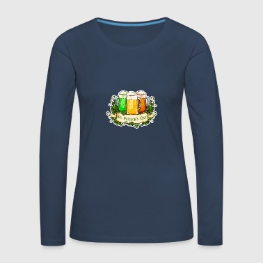 St Patricks Day - Women's Premium Longsleeve Shirt