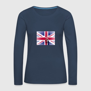 United Kingdom Flag - Women's Premium Longsleeve Shirt