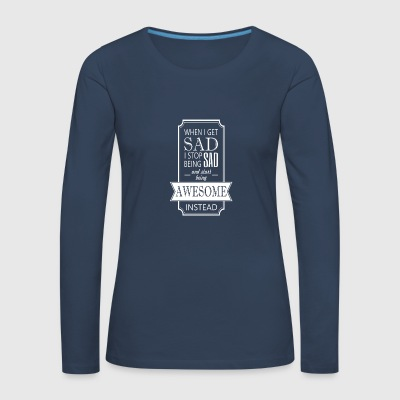 awesome - Women's Premium Longsleeve Shirt