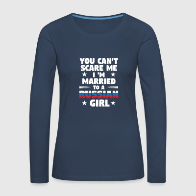 Russian Girl - Women's Premium Longsleeve Shirt