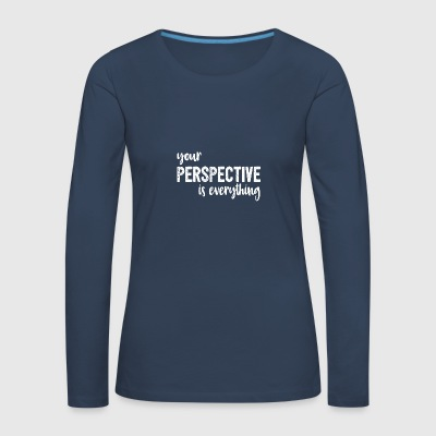 Inspiration/Motivation - Frauen Premium Langarmshirt