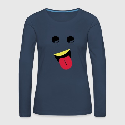 Pull the tongue - Women's Premium Longsleeve Shirt