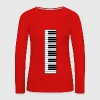 piano, piano keyboard - Women's Premium Longsleeve Shirt