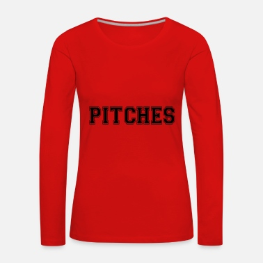 Pitch pitches - Women's Premium Longsleeve Shirt