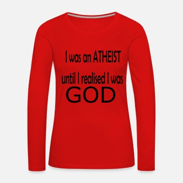 God GOD - Women's Premium Longsleeve Shirt