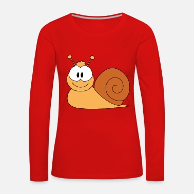Escargot escargot - T-shirt manches longues Premium Femme