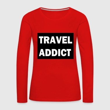 travel Searches - Women's Premium Longsleeve Shirt