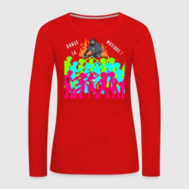 music-dance - Women's Premium Longsleeve Shirt