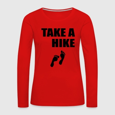 Lapsi take a hike 398 - Women's Premium Longsleeve Shirt