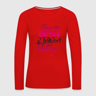 Tattoo Tattoos Tattooed Tattooing Gift - Women's Premium Longsleeve Shirt