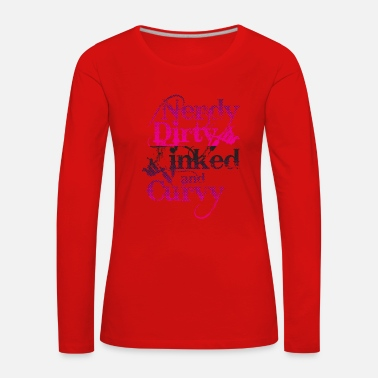 Tattooed Tattoo Tattoos Tattooed Tattooing Gift - Women's Premium Longsleeve Shirt