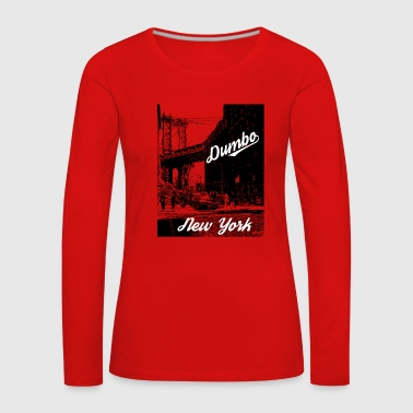 Dumbo New York City - T-shirt manches longues Premium Femme